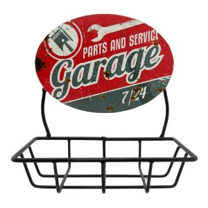 Saboneteira Garage em Metal CW-38