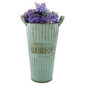 Vaso de Metal Decorativo Garden DI-11