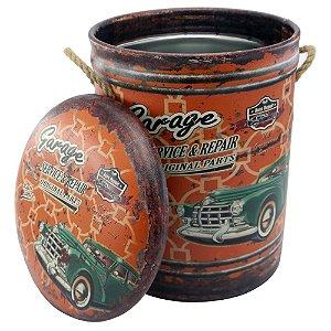 Banqueta Porta-objetos Vintage Garage DI-49