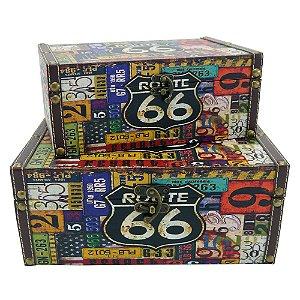 Jogo de Baús Route 66 DI-52