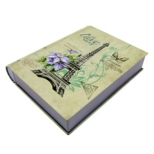 Caixa de Metal Formato Livro DI-66