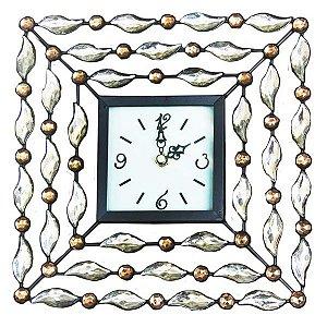 Relógio Quadrado Diamante DL-19