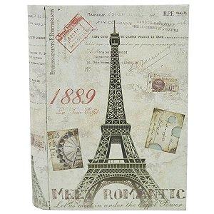 Caixa de Metal Livro Paris DS-87