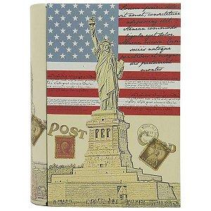 Caixa de Metal Livro New York DS-88