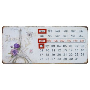 Calendario Permanente Paris DX-68