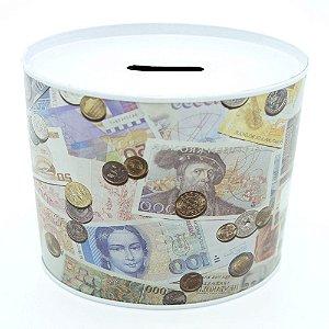 Cofrinho Decorativo Dinheiro Estrangeiro EY-69