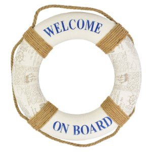 Bóia Decorativa Welcome on Board FG-66