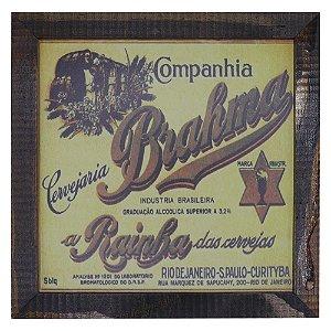 Quadro Cerveja Brahma GD-10