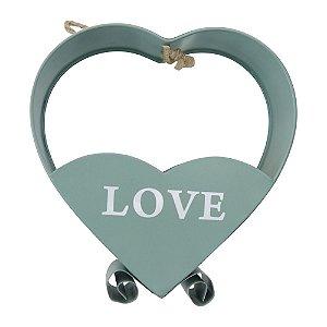 Porta Flores Love Verde HC-89