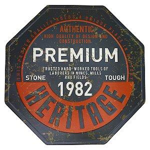 Placa de Metal Premium KZ-36