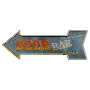 Placa Beer Bar KZ-44