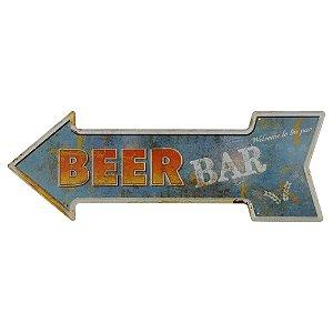 Placa Beer Bar KZ-44