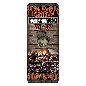 Abridor de Garrafa Harley Davidson LA-46
