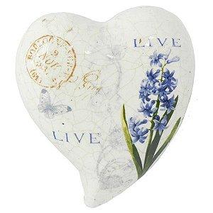 Coração Decorativo de Cerâmica LC-45