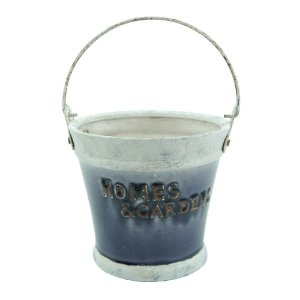Vaso De Cerâmica Baldinho Pequeno LJ-54