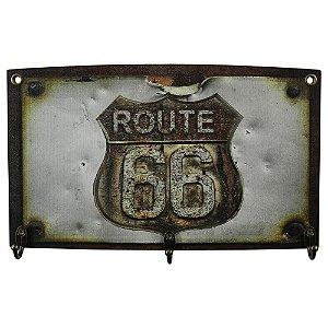 Cabideiro Rústico Route 66 MH-04