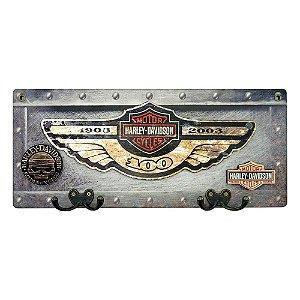 Cabideiro Rústico Harley Asa MH-12