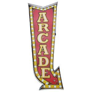 """Placa """"Arcade"""" com luzes de LED MT-15"""