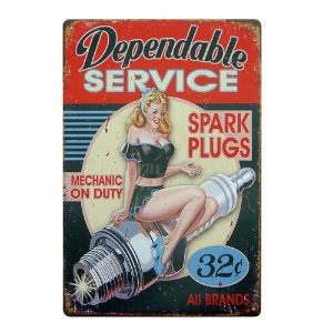 "Placa ""Spark Plugs"" MT-83"