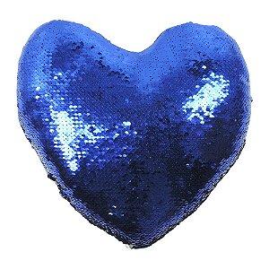 Almofada Anti-estresse Coração Azul PS-26 D