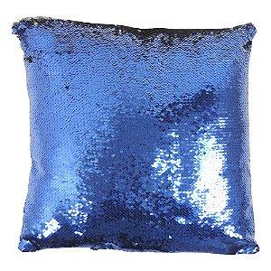 Almofada Anti-estresse Quadrada Azul PS-27 D