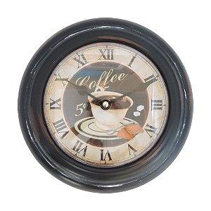 Relógio Decorativo Coffee RG-49