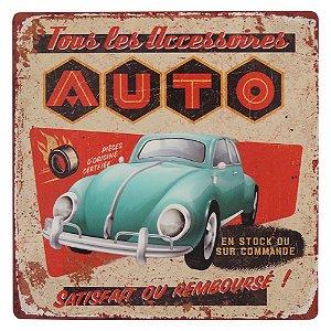 Placa Auto Fusca RG-69