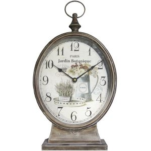Relógio de Mesa Redondo Jardim RL-08