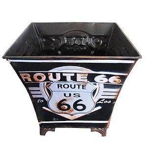 Lixeira de Metal Route 66 RT-27