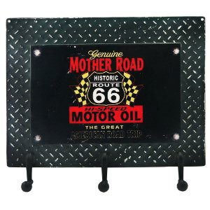 Cabideiro Chapa de Metal Mother Road RT-77 B