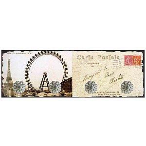 Cabideiro Cartão Postal Paris RV-35