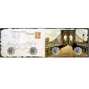 Cabideiro Cartão Postal Londres RV-36