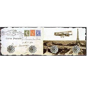 Cabideiro Cartão Postal Torre Eiffel RV-37