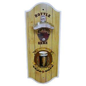 Abridor de Garrafa de Parede Crafted Beer SV-27 A