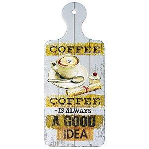Tag de Cerâmica Coffee Always SV-34 B