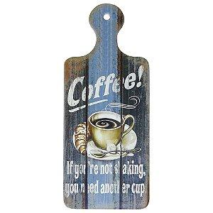 Tag de Cerâmica Vintage Coffee SV-34 E