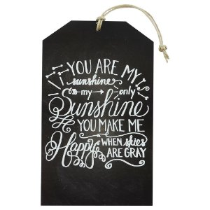 "Tag ""You Are My Sunshine"" TG-01"