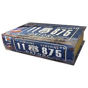 Prateleira Vintage Azul UA-04