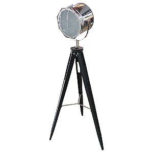 Luminária Spot Prata Grande UA-65