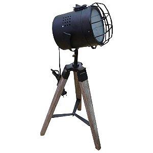 Luminária Spot Preto UA-68