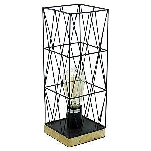 Luminária Aramado Quadrada UA-76