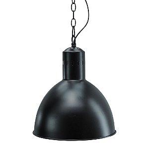 Luminária Pendente Preta UA-80