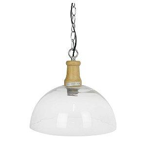 Luminária Pendente Transparente UA-82