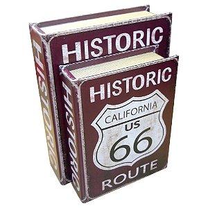Jogo 2 Livros Route 66 UA-94