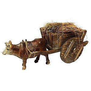Decorativo Vaca e Carroça WG-45