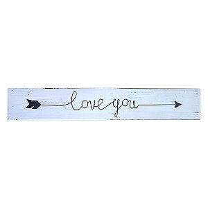 "Quadro Flecha ""Love You"" WZ-09"