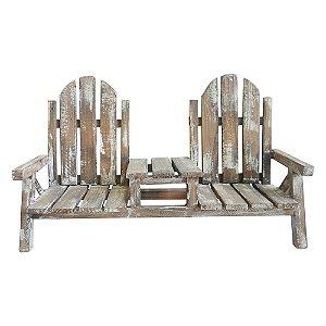 Cachepô Duplo Cadeira WZ-29