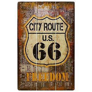 Quadro Route 66 Freedom ZZ-36