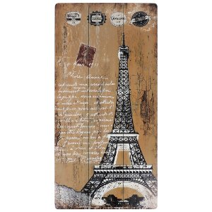 Quadro Torre Eiffel Amarelo AA-65 C