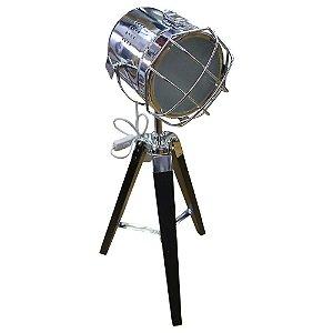 Luminária Spot Prata UA-67